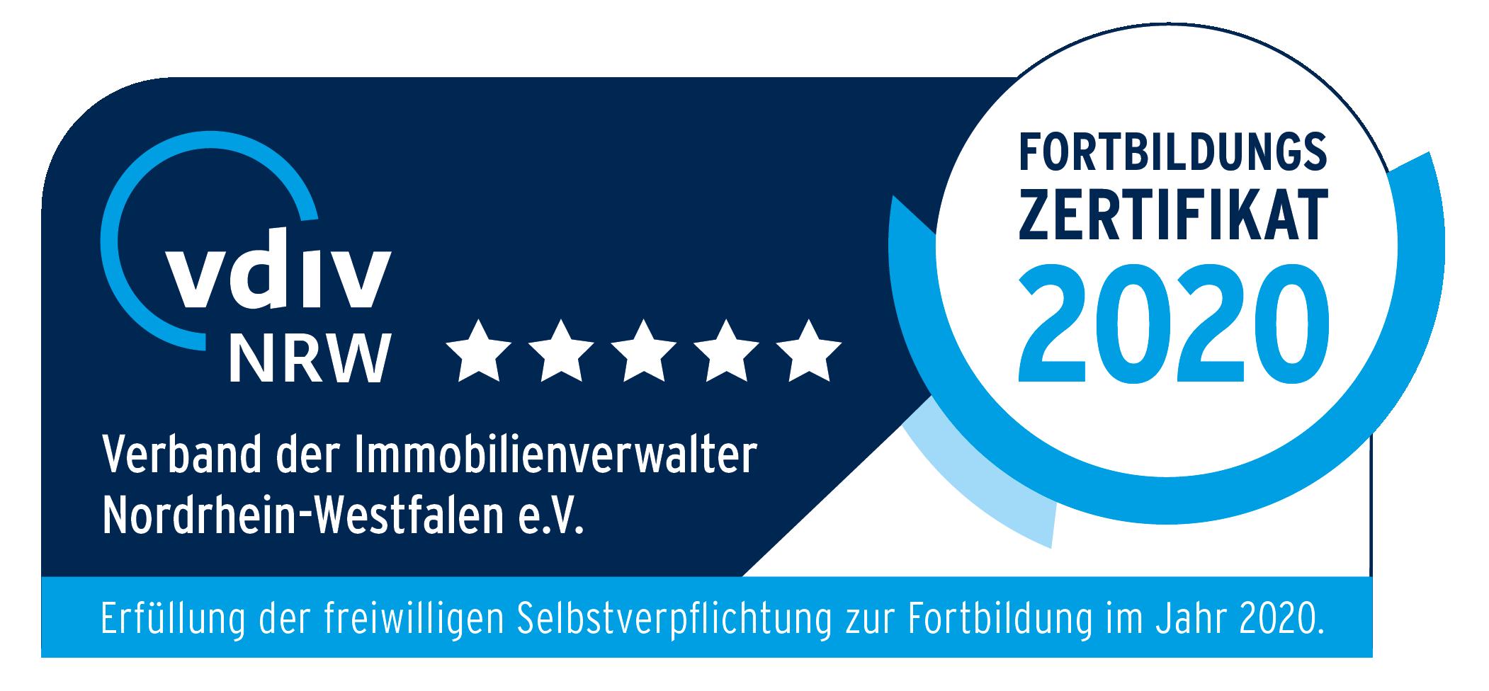 Mitglied im Verband der nordrhein-westfälischen Immobilienverwalter e.V.